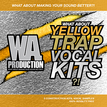 Сэмплы WA Production What About Yellow Trap Vocal Kits
