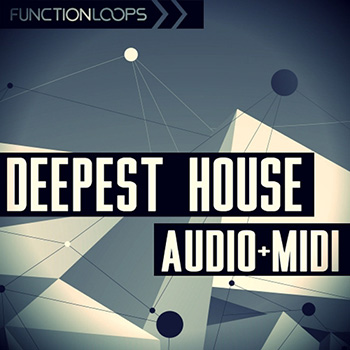 Сэмплы Function Loops Deepest House Audio and MIDI