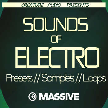 Пресеты Creature Audio Sounds Of Electro