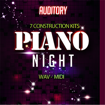 Сэмплы Auditory Cinematic Piano Night