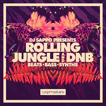 Сэмплы Loopmasters DJ Sappo Rolling Jungle and DnB