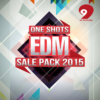 Сэмплы 99 Patches EDM One Shots Sale Pack 2015 Vol.1