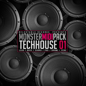 Сэмплы Delectable Records Tech House Monster MIDI Pack 01
