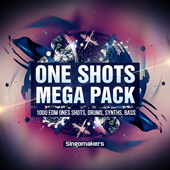 Сэмплы Singomakers EDM One-Shots Mega Pack