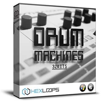 Сэмплы ударных - HexLoops Drum Machines 32 Kits