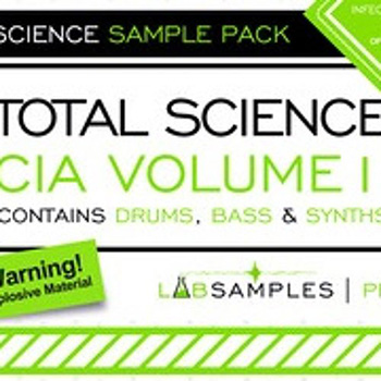 Сэмплы Labsamples Total Science CIA Drum and Bass Vol.1