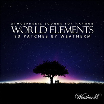 Пресеты WeatherM World Elements For Harmor