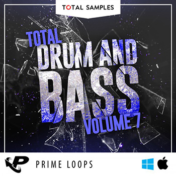 Сэмплы Prime Loops Total Samples - Total Drum and Bass Vol.7