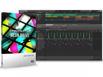 Расширение Native Instruments Maschine Expansion Neon Drive v1.0.0 (Maschine 2)