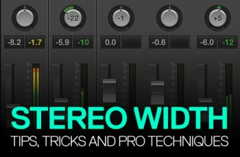 Видео уроки - ADSR Sounds Stereo Width How To For Improving Your Stereo Mixing (ENG)