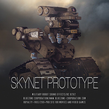 Звуковые эффекты - Bluezone Corporation Skynet Prototype Military