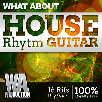 Сэмплы гитары - What About House Rhytm Guitar