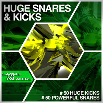 Сэмплы ударных - Sample Tweakers Huge Snares and Kicks