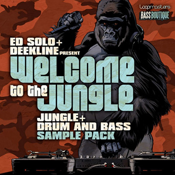 Сэмплы Bass Boutique Ed Solo Deekline Welcome To The Jungle