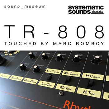 Сэмплы Systematic Sounds Marc Romboy Sound Museum TR-808