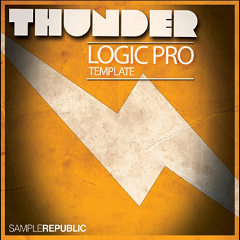 Проект Sample Republic Thunder Logic Pro Template