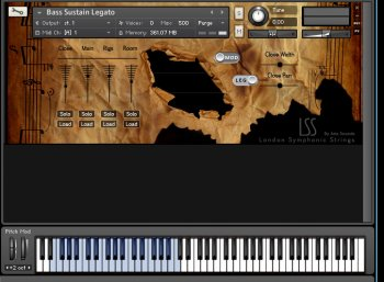 Библиотека сэмплов - ARIA Sounds London Symphonic Strings Double Basses (KONTAKT)