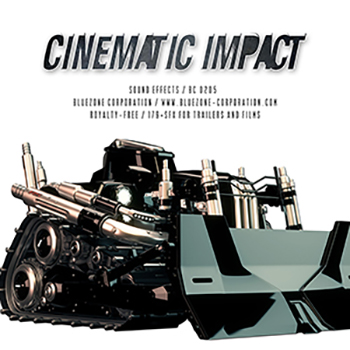 Звуковые эффекты - Bluezone Cinematic Impact Sound Effects