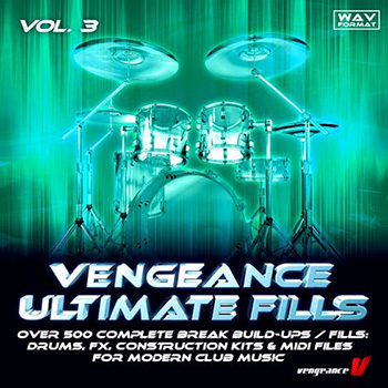 Сэмплы ударных - Vengeance Ultimate Fills Vol 3