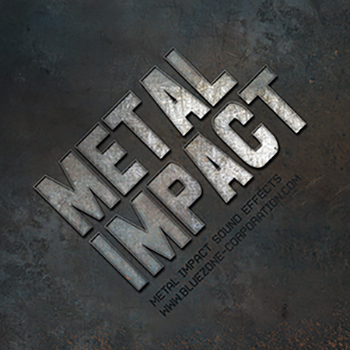 Звуковые эффекты - Bluezone Metal Impact Sound Effects