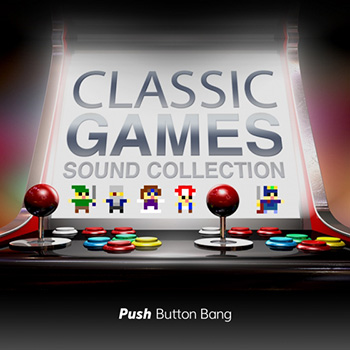 Звуковые эффекты - Push Button Bang Classic Games Sound Collection
