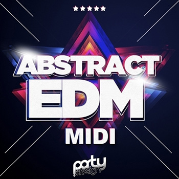 MIDI файлы - Party Design Abstract EDM Sounds Midi Loops
