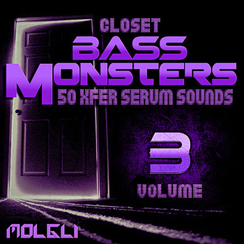 Пресеты Molgli Closet Bass Monsters Vol 3