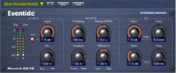 Eventide 2016 Stereo Room v2.1.5 AAX VST2 x86 x64