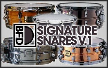 FXpansion BFD Signature Snares Vol.1 v1.0.0