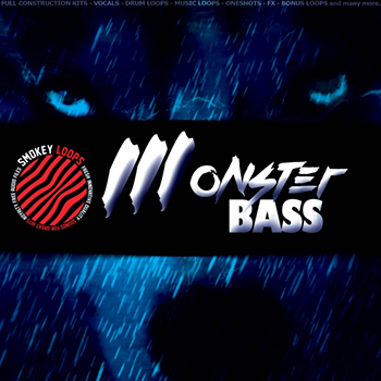 Сэмплы Smokey Loops Monster Bass