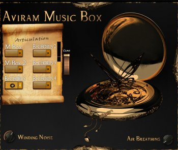 Библиотека сэмплов - Aviram Dayan Production Aviram Music Box 1.0 (KONTAKT)