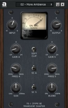Audiority TS-1 Transient Shaper v1.0.2 x86 x64