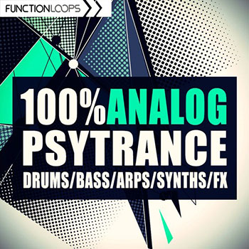 Сэмплы Function Loops 100% Analog PsyTrance