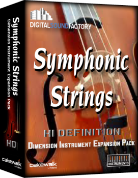 Digital Sound Factory Symphonic Strings HD for Dimension Pro v1.0