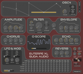 Guda Audio Euterpe XL v1.3 x86 x64