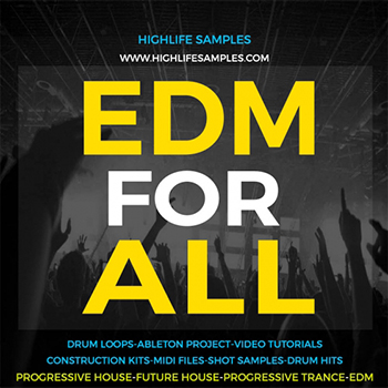 Сэмплы HighLife Samples EDM For All