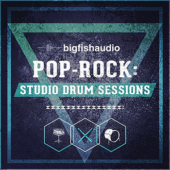 Библиотека сэмплов -  Big Fish Audio - Pop Rock Studio Drum Sessions (KONTAKT)
