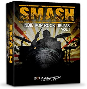 Сэмплы Soundcheck Samples SMASH Indie Pop Rock Drums Vol.1