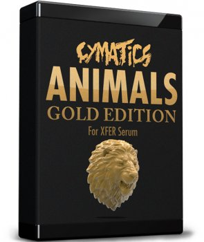 Пресеты Cymatics Animals for Serum Gold Edition