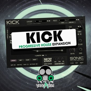 Пресеты Vandalism Kick Progressive House Expansion For KICK