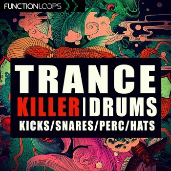 Сэмплы Function Loops Trance Killer Drums