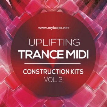 MIDI файлы - Myloops - Uplifting Trance MIDI Construction Kits Vol. 2