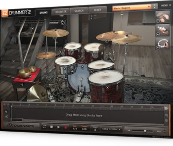 Расширение Toontrack EZX Post Rock for EZdrummer 2