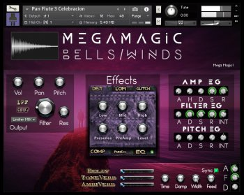 Библиотека сэмплов - PlugInGuru MegaMagic Bells/Winds (KONTAKT)