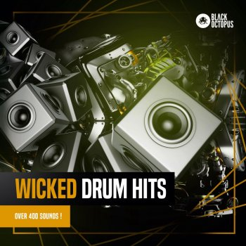 Сэмплы Black Octopus Wicked Drum Hits