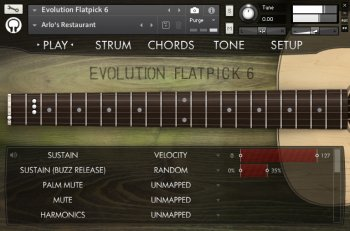 Библиотека сэмплов - Orange Tree Samples Evolution Flatpick 6 (KONTAKT)