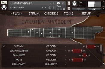 Библиотека сэмплов - Orange Tree Samples Evolution Mandolin (KONTAKT)