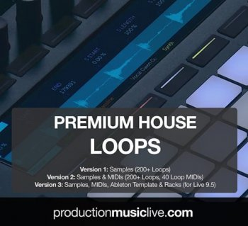 Сэмплы Production Music Live Premium House Loops V1