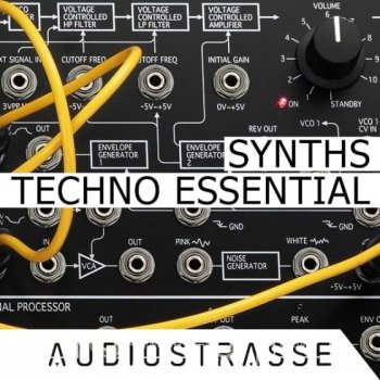 Сэмплы Audio Strasse Techno Essential Synths