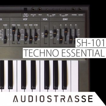 Сэмплы Audio Strasse SH-101 TECHNO ESSENTIAL